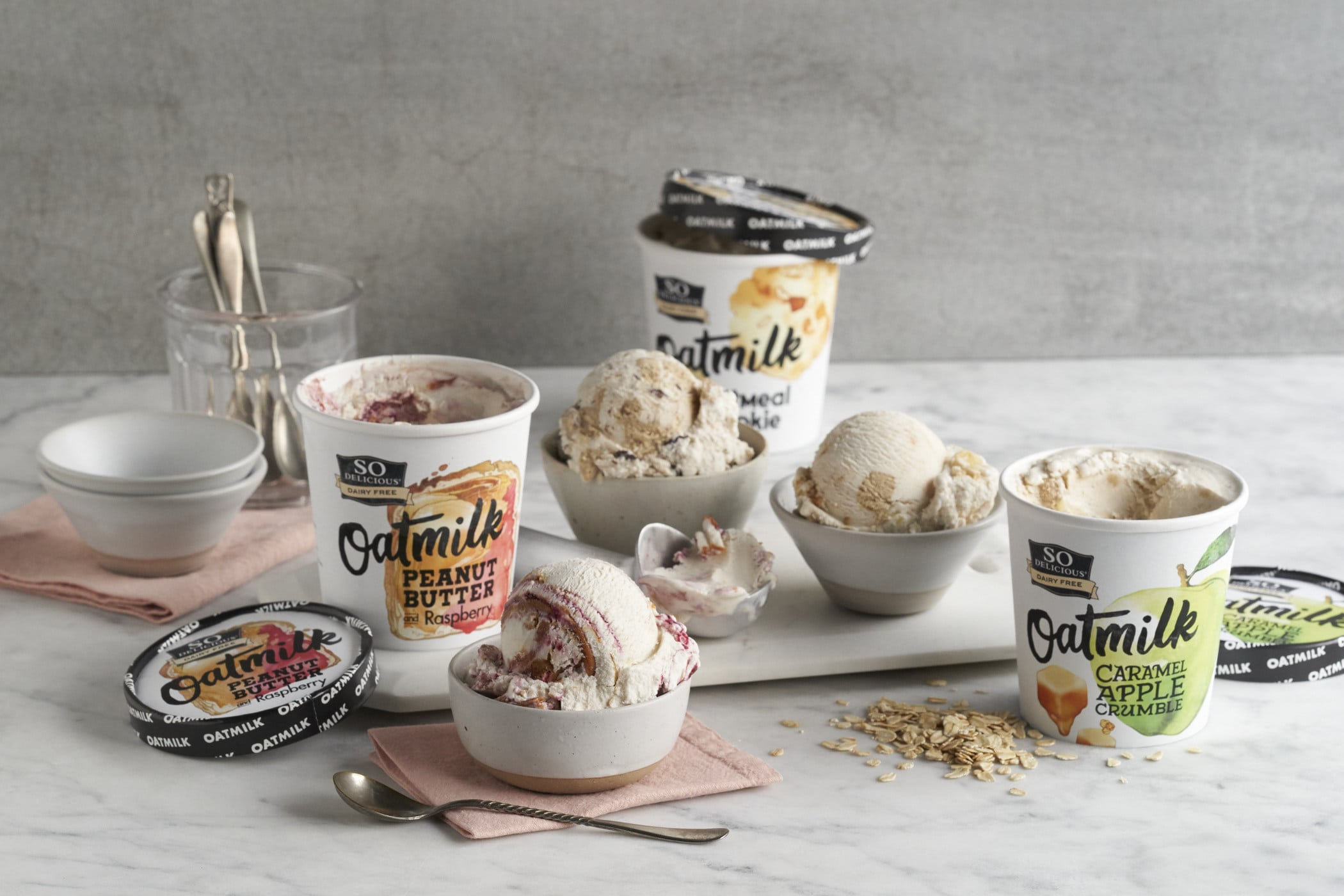So Delicious Launches Oatmilk Frozen Dessert Line