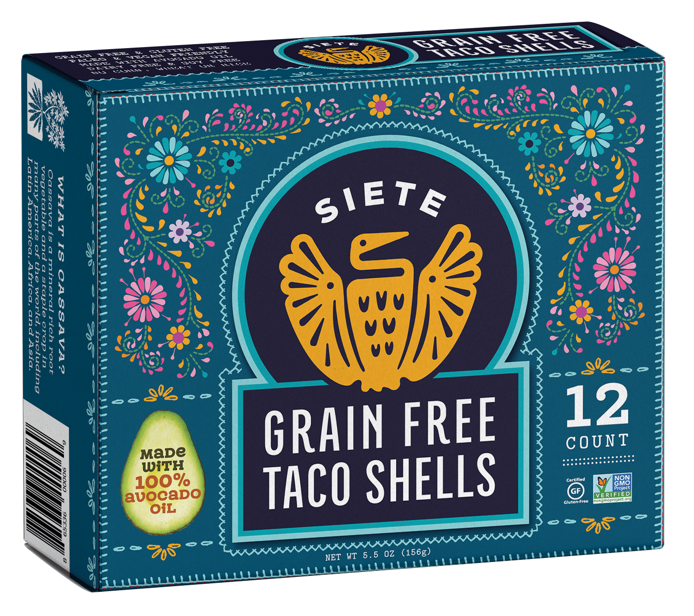 Siete Family Foods Launches Grain Free Taco Shells
