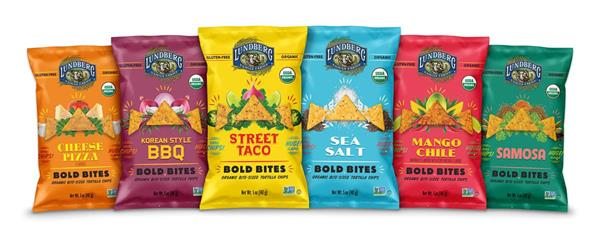 Lundberg Family Farms Announces Bold Bites Chips