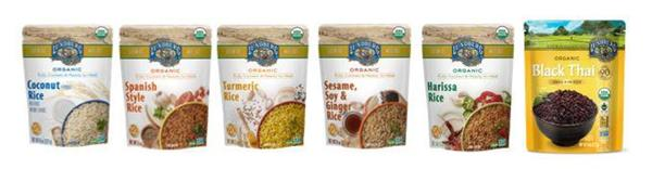 Lundberg Family Farms Launches Six Ready-to-Heat Rice Pouches