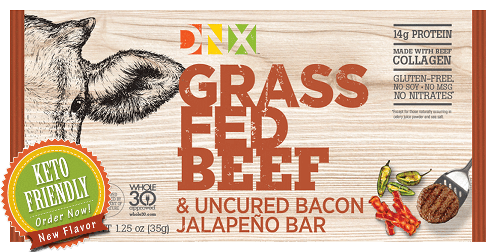 DNX Foods Launches Keto Bacon Jalapeño Bar