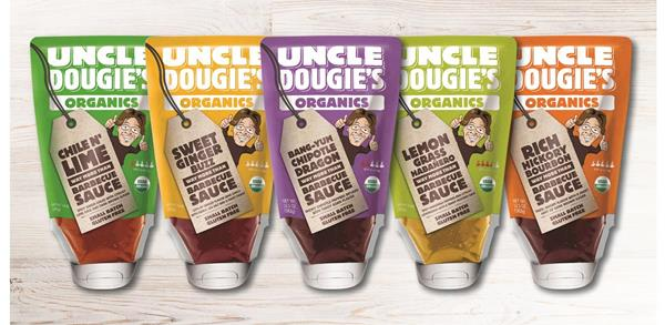 Uncle Dougie's Launches New Organic (Way More Than) BBQ Sauces