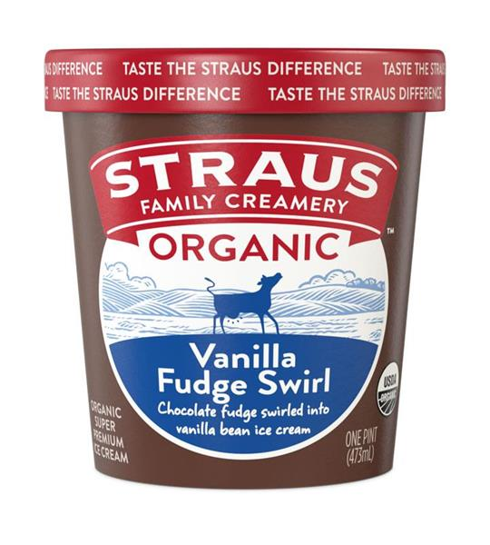 Straus Family Creamery Debuts Three New Organic Ice Cream Flavors