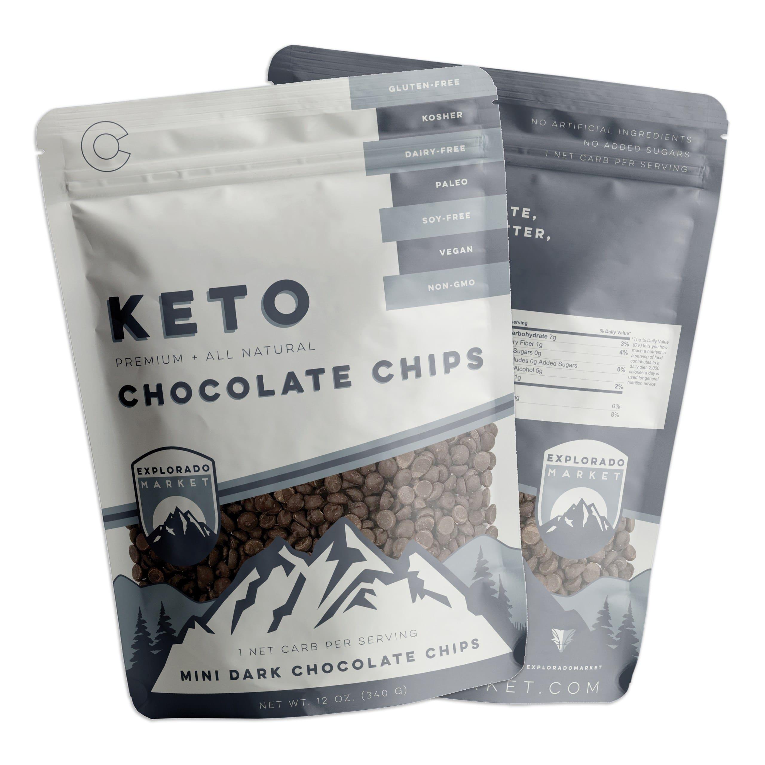 Explorado Market Announces Launch of Keto Mini Dark Chocolate Chips