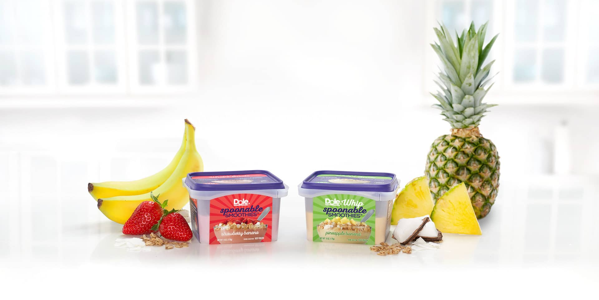 Dole Introduces Dole Spoonable Smoothies