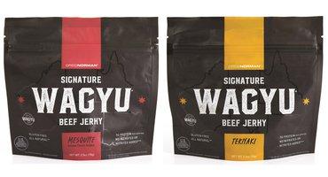 Greg Norman Debuts 100 Percent Wagyu Beef Jerky