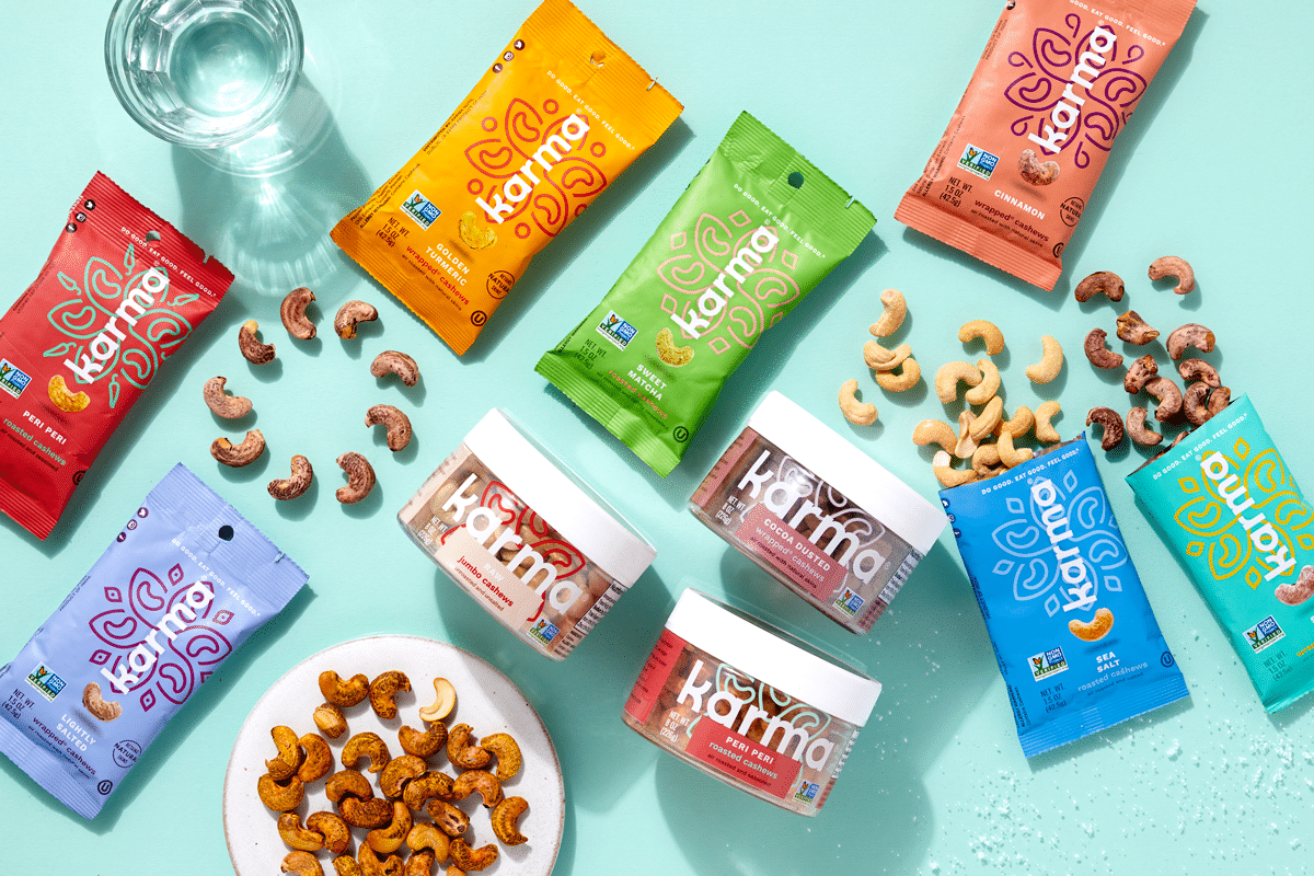 Karma Nuts Announces New Flavors and Packaging