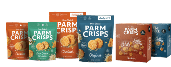 ParmCrisps Launches Two New Flavors, Adds Family Sizes and Multipacks