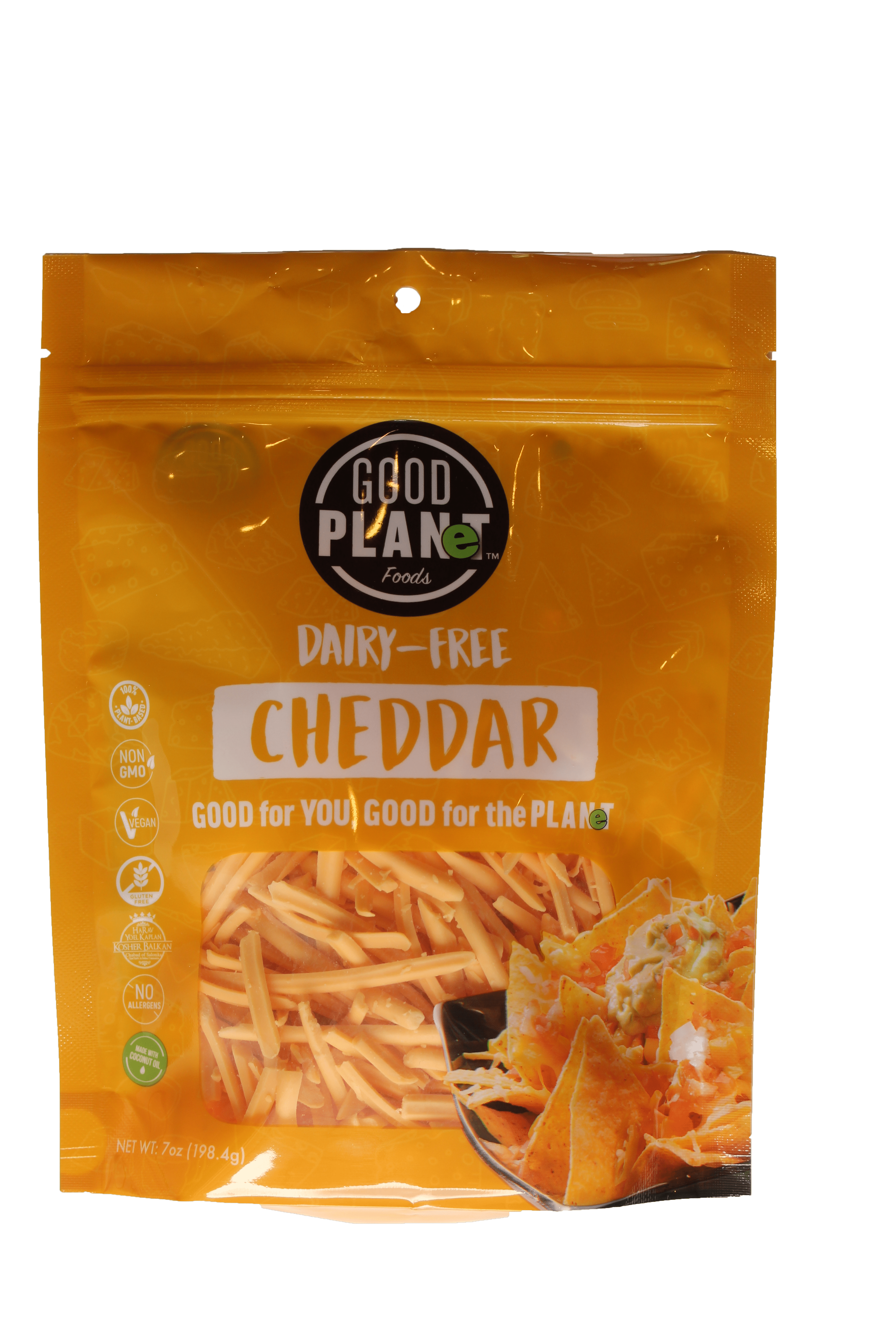 Good Planet Foods Introduces Cheddar Flavor Plant-Based Shredded Cheese