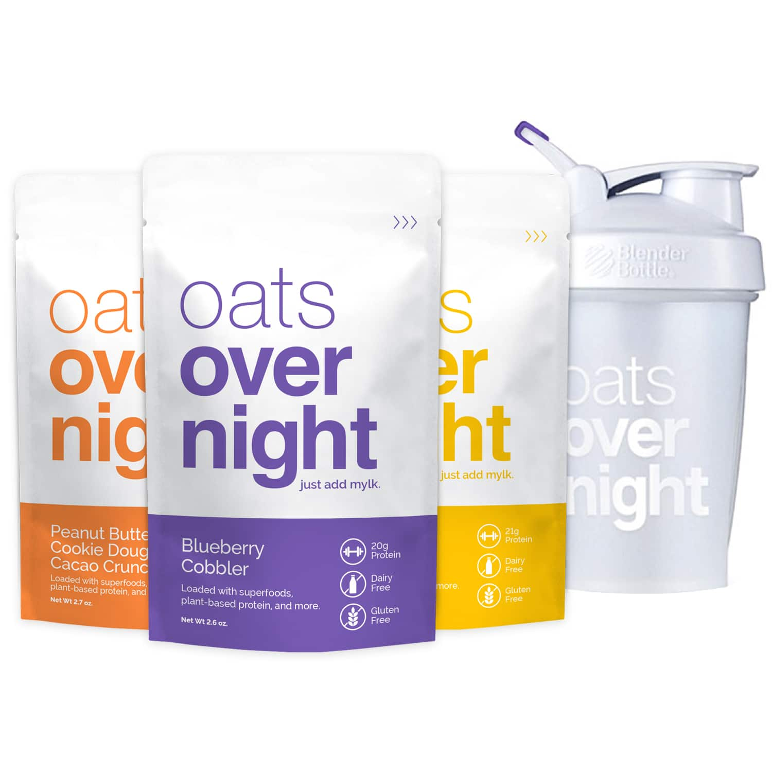 Oats Overnight Launches Vegan Line