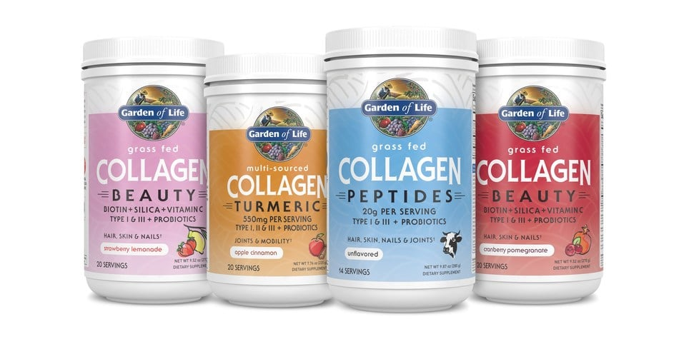 Garden Of Life Launches Grass-Fed Collagen Line