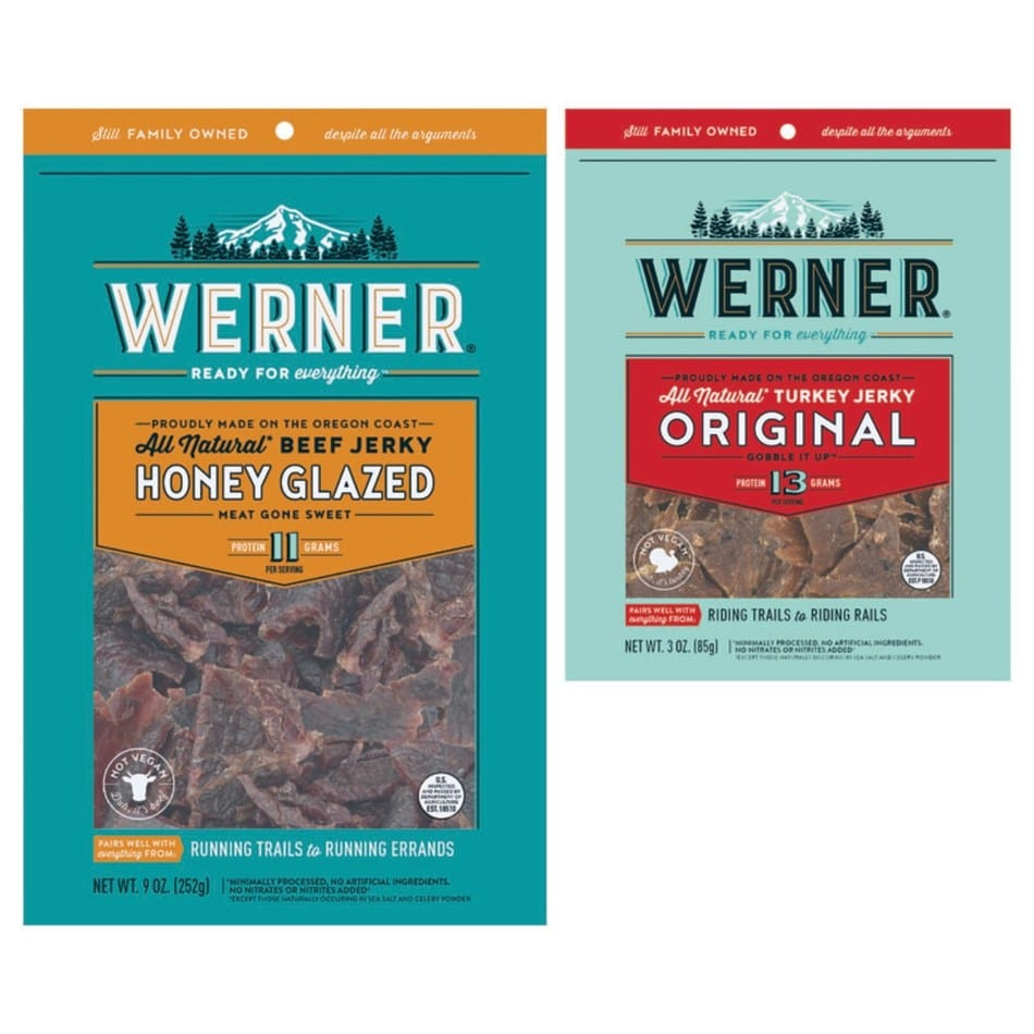 Werner Gourmet Meat Snacks Inc. Introduces New Brand and Packaging