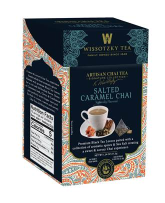 Wissotzky Tea Launches New Chai Tea Varieties