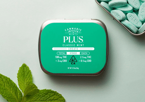 PLUS Unveils Cannabis-Infused Mints