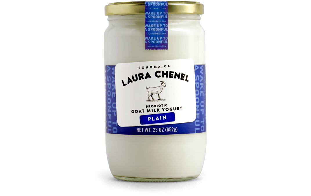Laura Chenel Introduces Goat Milk Yogurt