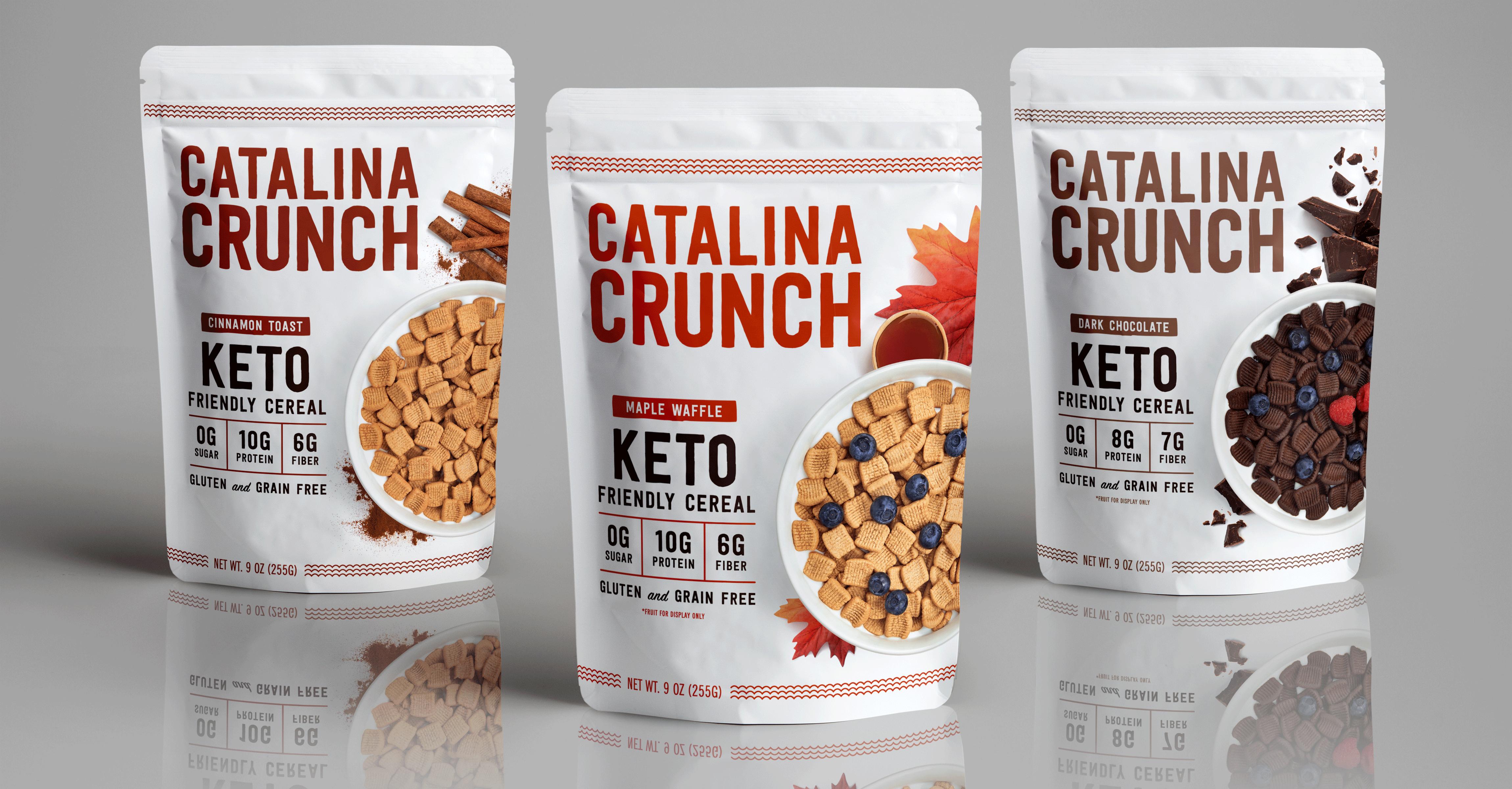 Catalina Crunch Debuts Zero Sugar Maple Waffle Cereal