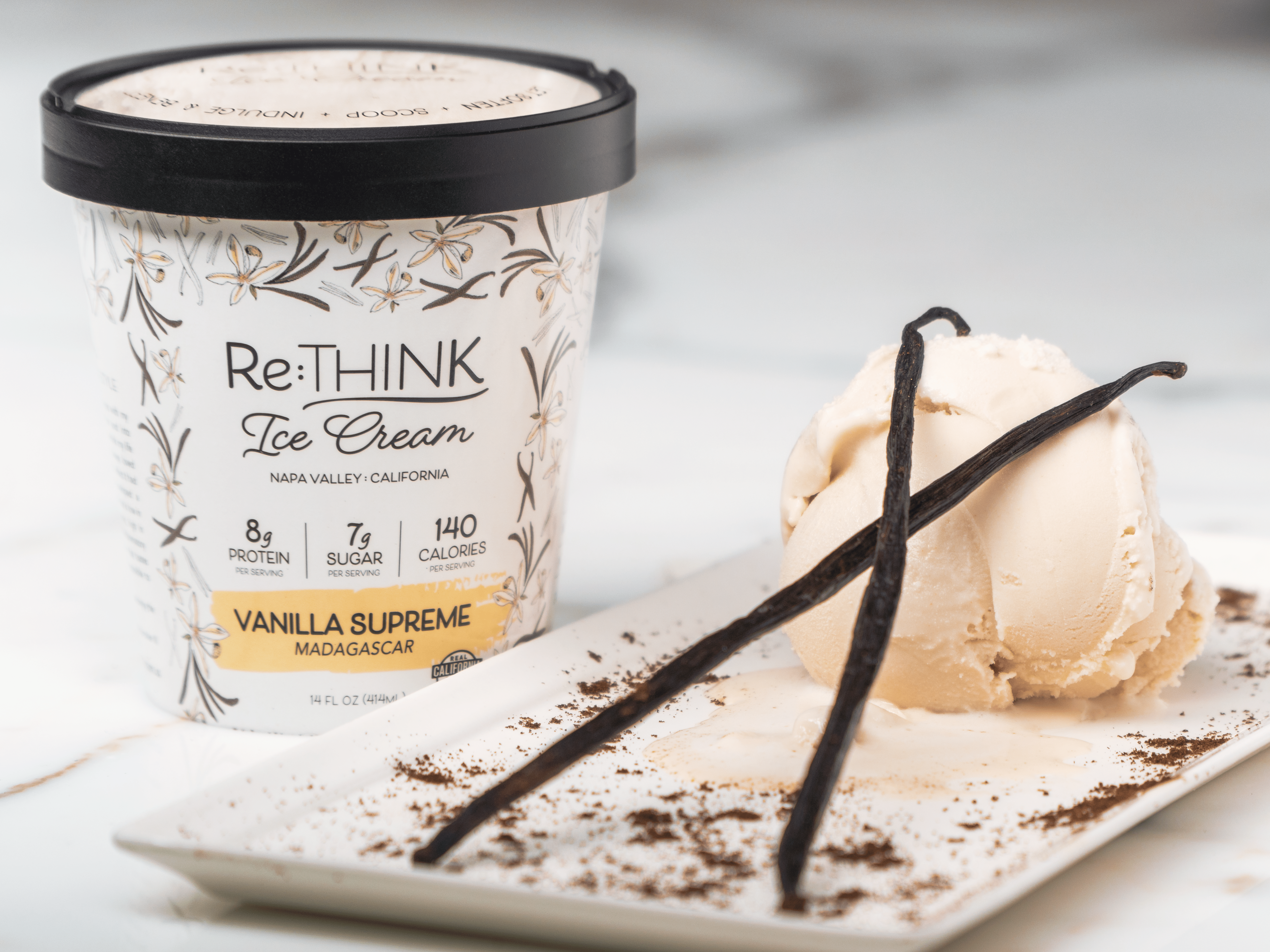 Re:THINK Ice Cream Introduces Vanilla Supreme Flavor