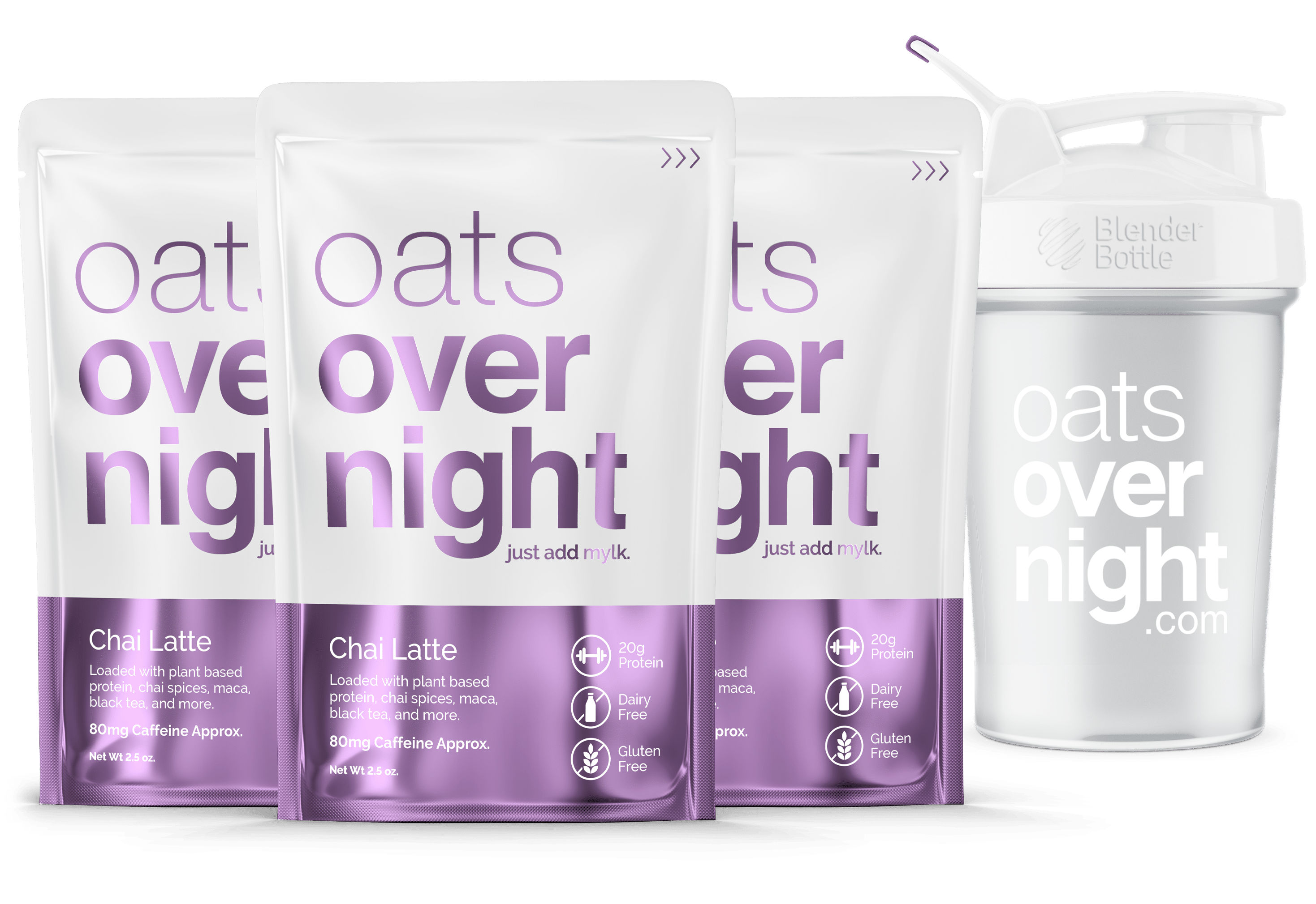 Oats Overnight Announces New Vegan Caffeinated Chai Latte Flavor