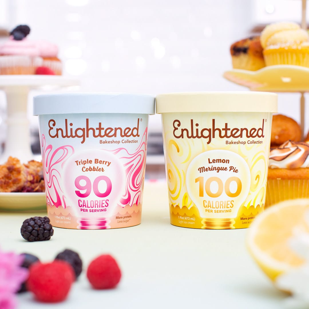 Enlightened Ice Cream Launches Bakeshop Collection