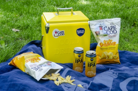 Cape Cod Partners with Samuel Adams on Cape Cod Summer Potato Chips
