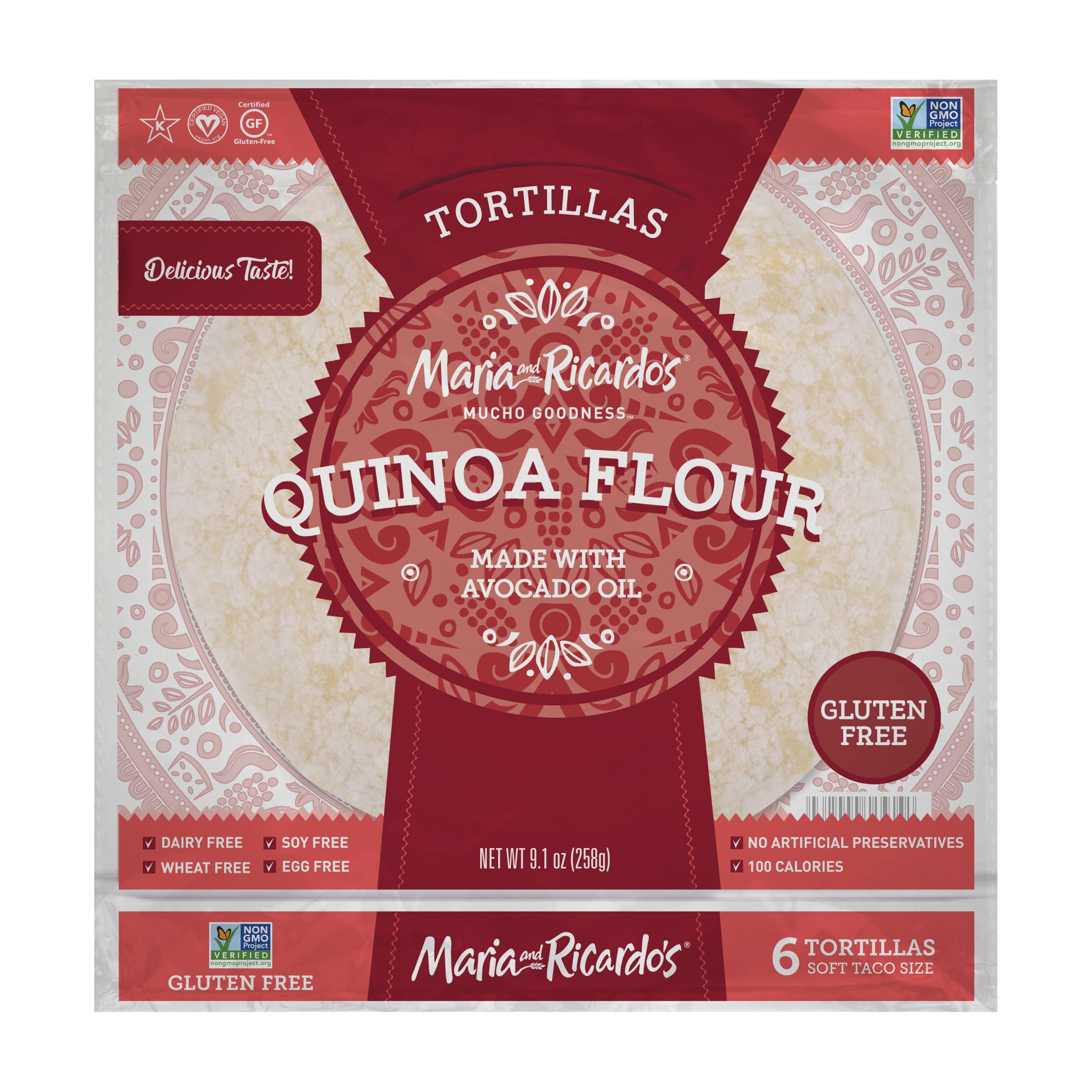 Maria and Ricardo's Launches Two New Tortillas Nationwide