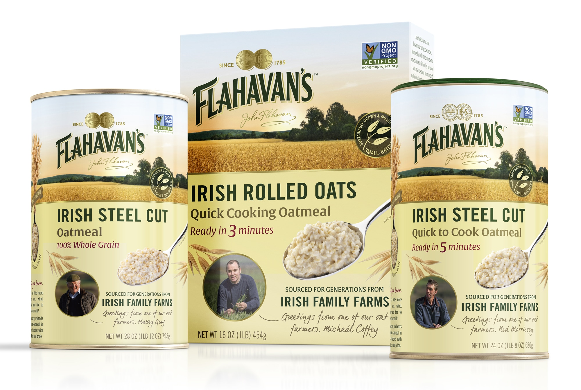 Flahavan's Irish Oats Rebrands