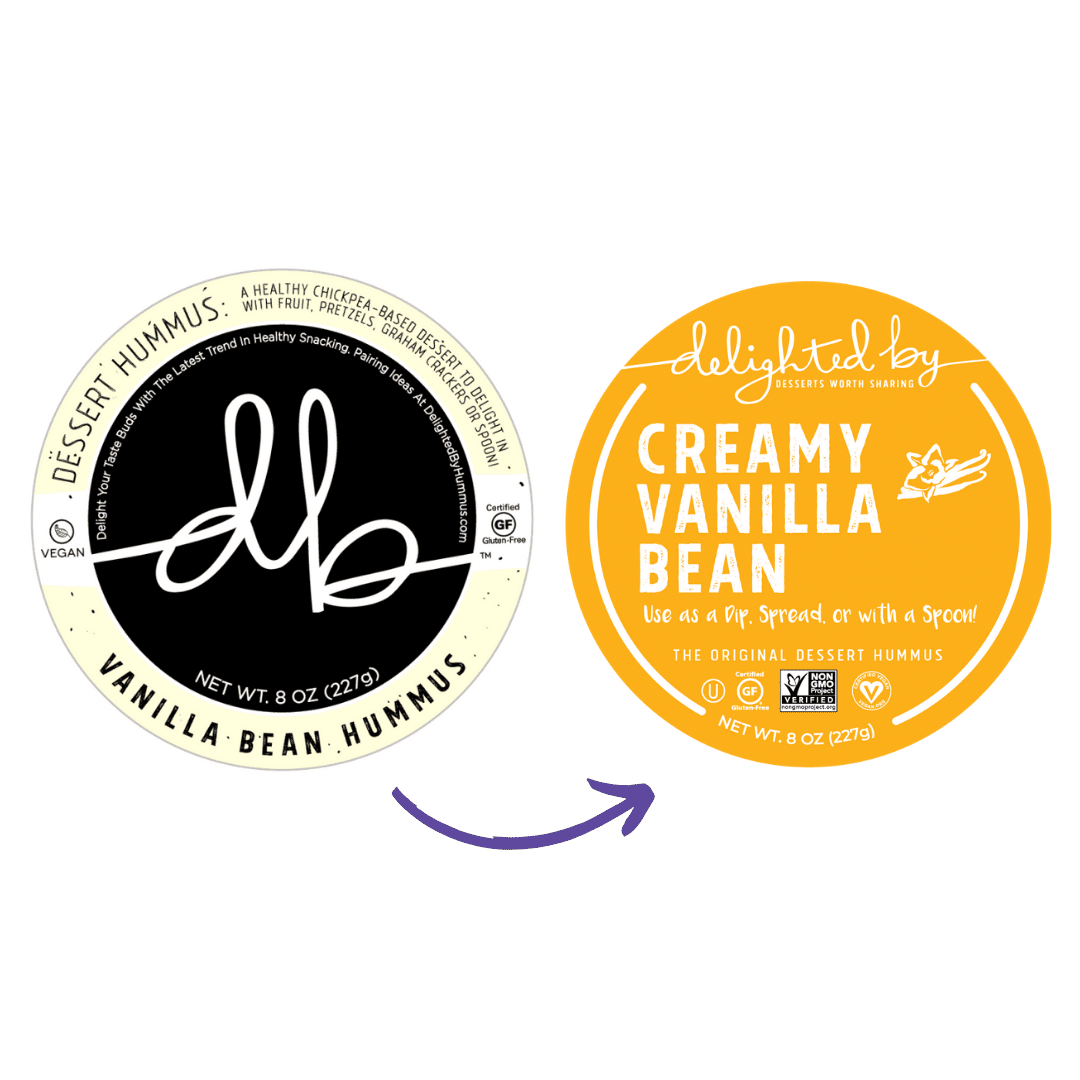 DELIGHTED BY Desserts Announces Brand Refresh