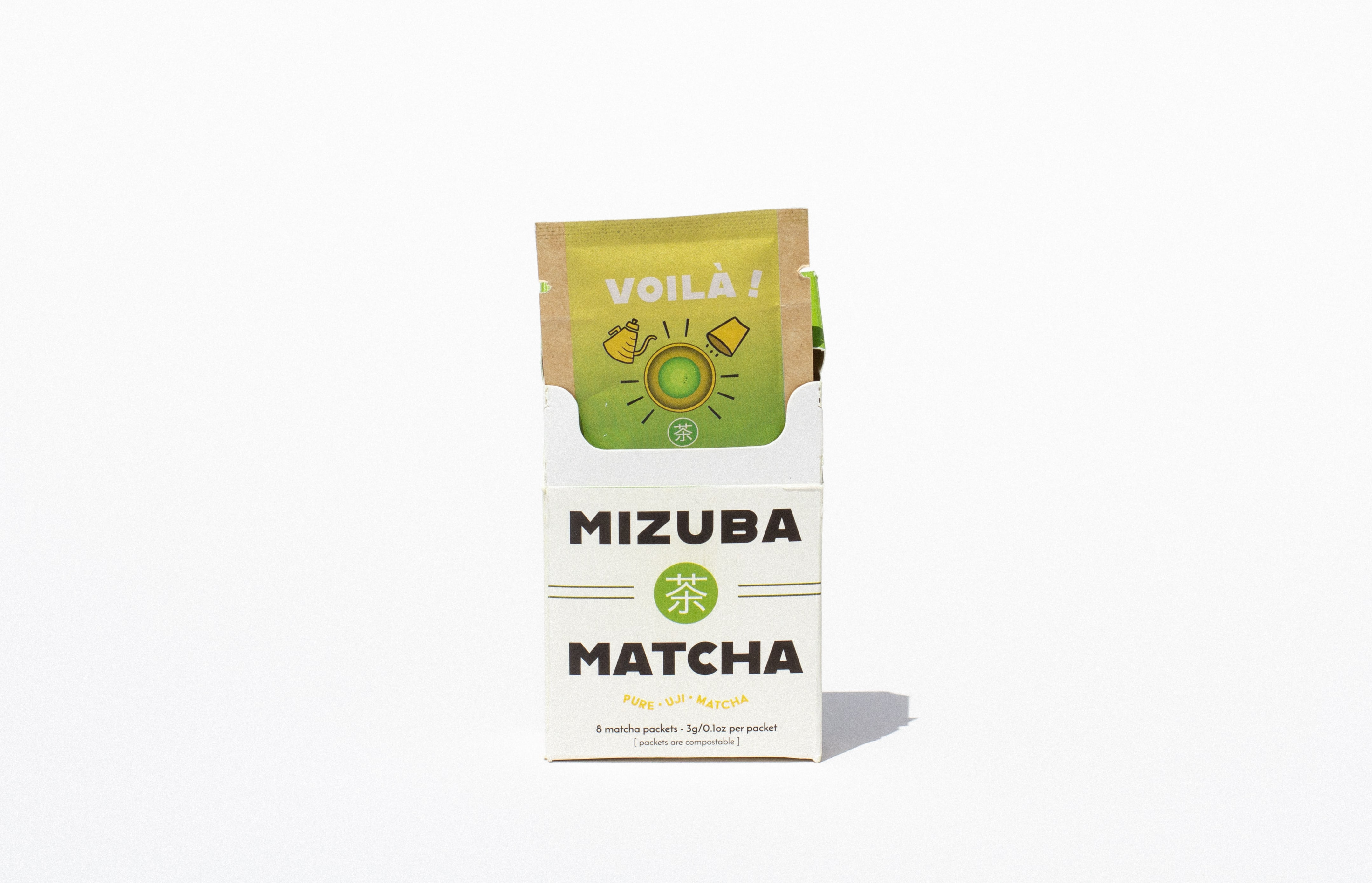 Voilà and Mizuba Tea Co. Partner on Single-Serve Matcha
