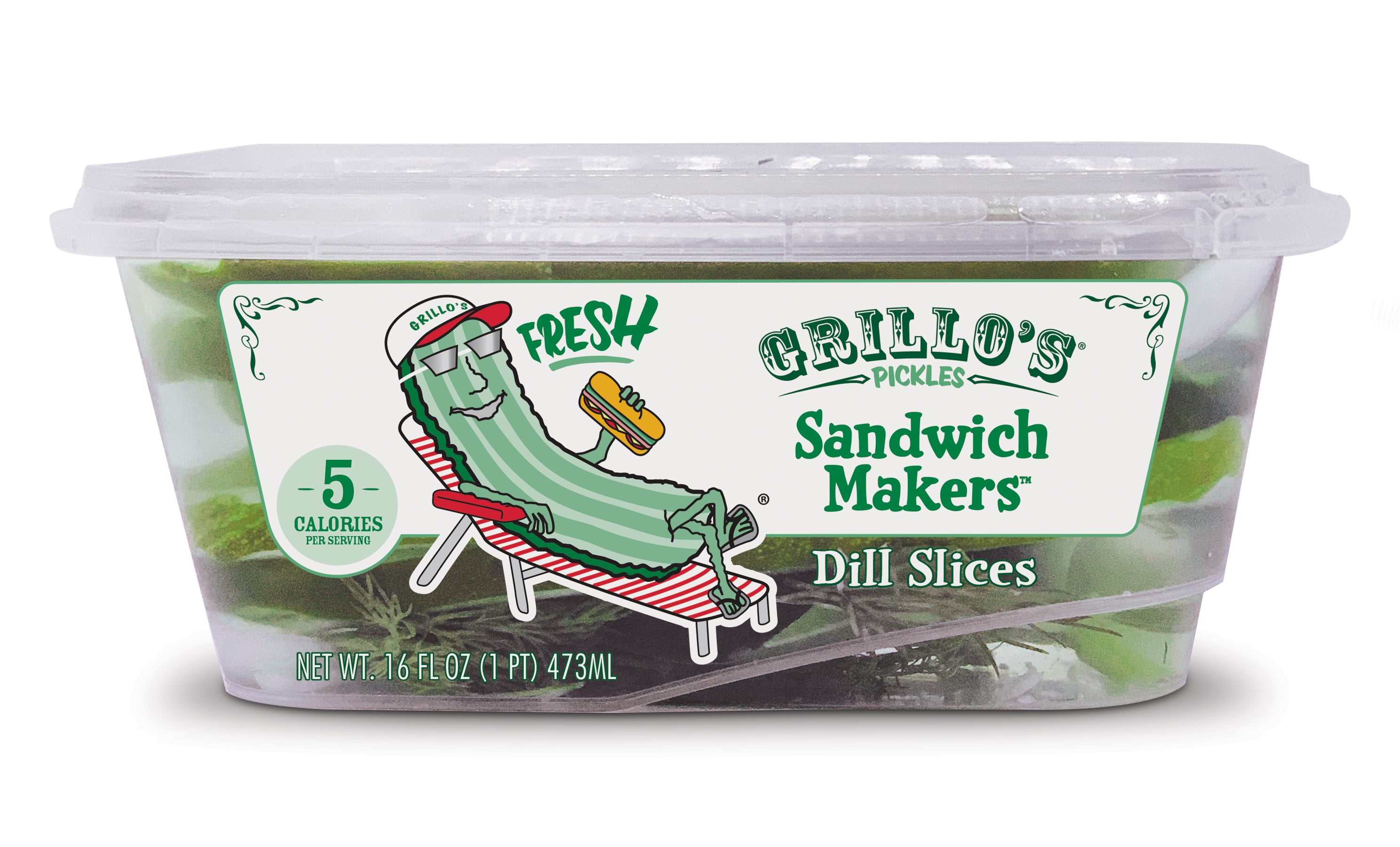Grillo's Pickles Launches Fresh Packs