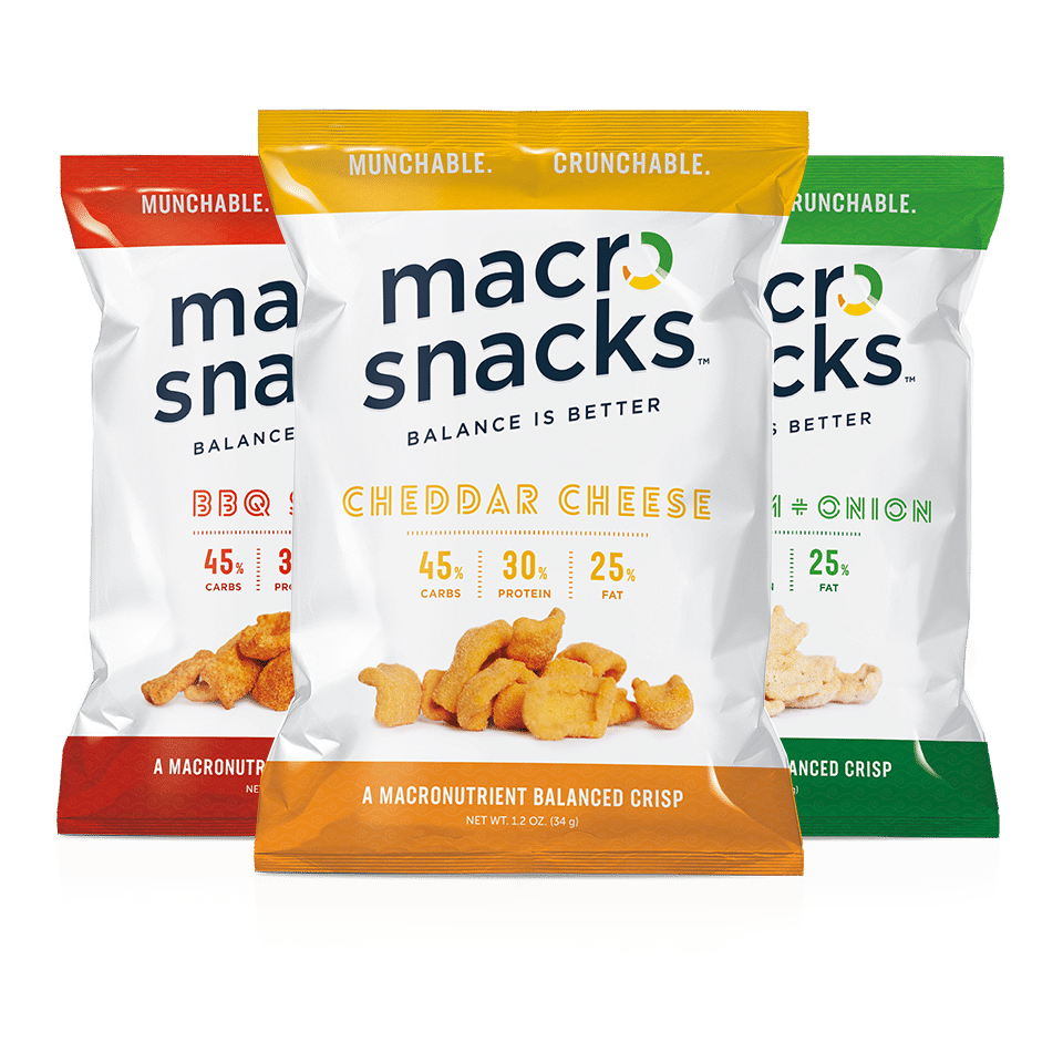 Macro Snacks Launches Line of Macronutrient Crisps