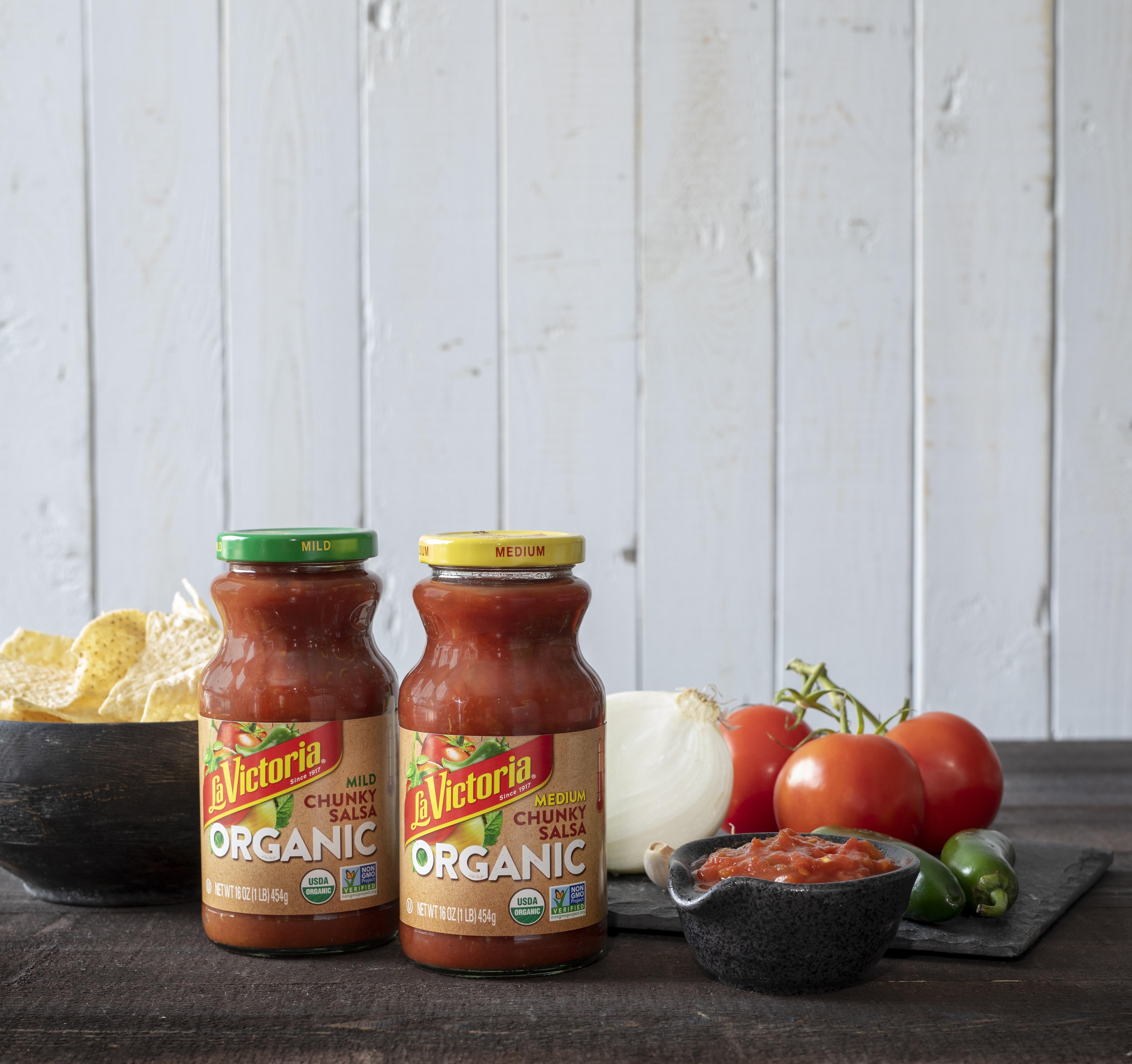 LA VICTORIA Debuts New Line of Organic Salsas
