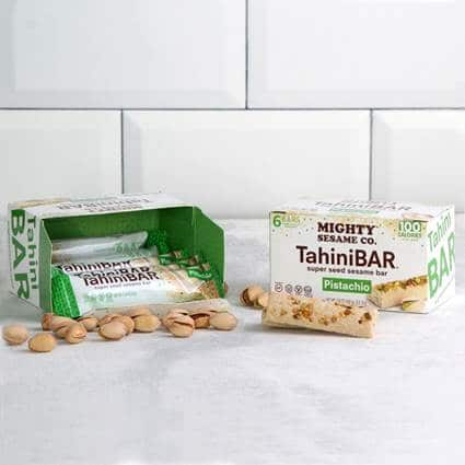 Mighty Sesame Co. Launches Squeezable Tahinis and Gluten-Free TahiniBars