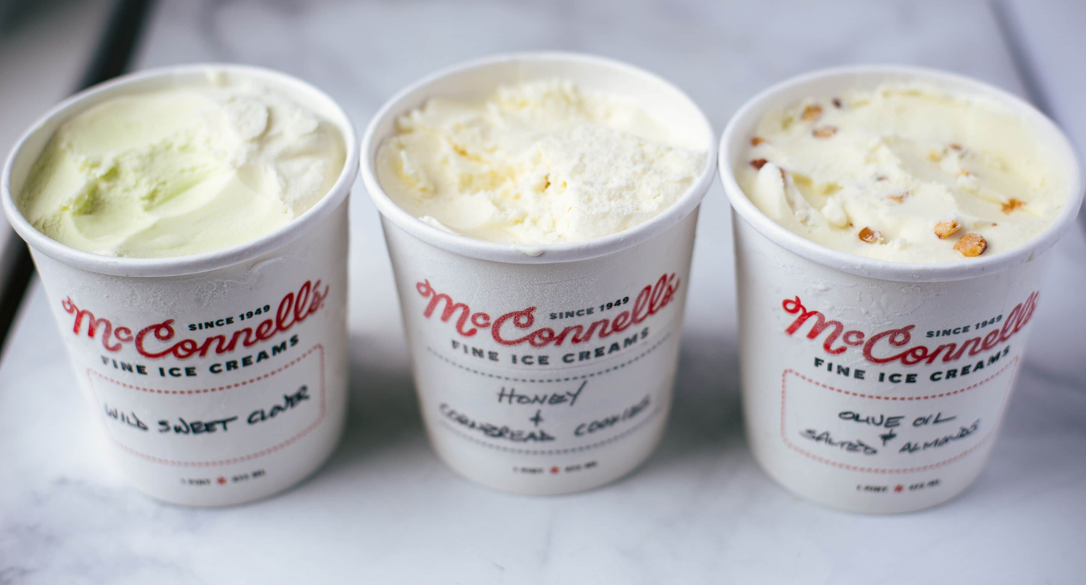 McConnell's Fine Ice Creams Launches Three New Flavors