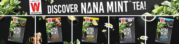 Wissotzky Tea Launches Nana Mint Tea