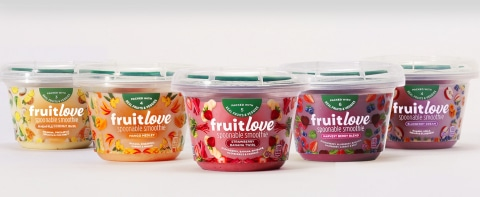 Fruitlove Spoonable Smoothies Launch