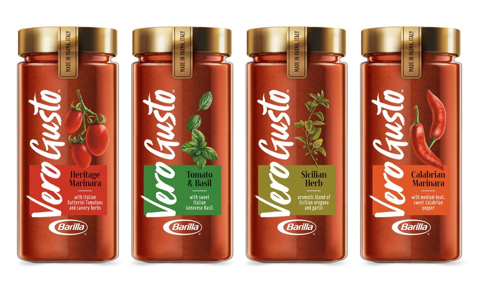 Barilla Launches Vero Gusto Premium Italian Sauces