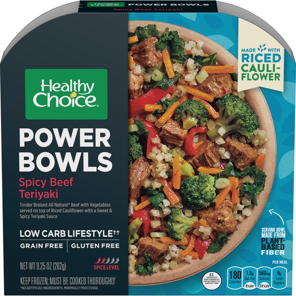 Healthy Choice Launches New Grain-Free Power Bowl Varieties