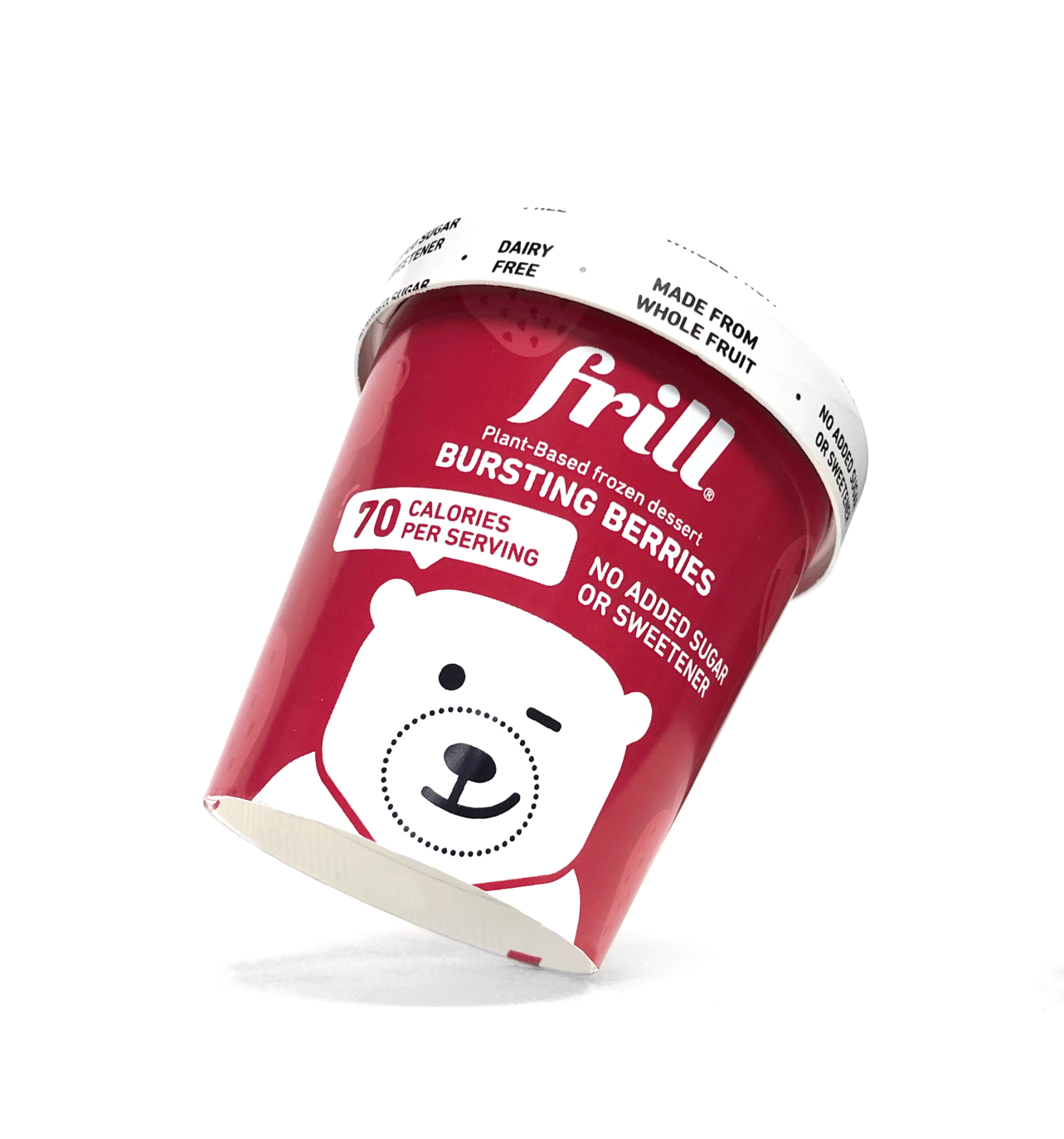 Frill Launches Fruit & Vegetable-Based Vegan Ice Cream