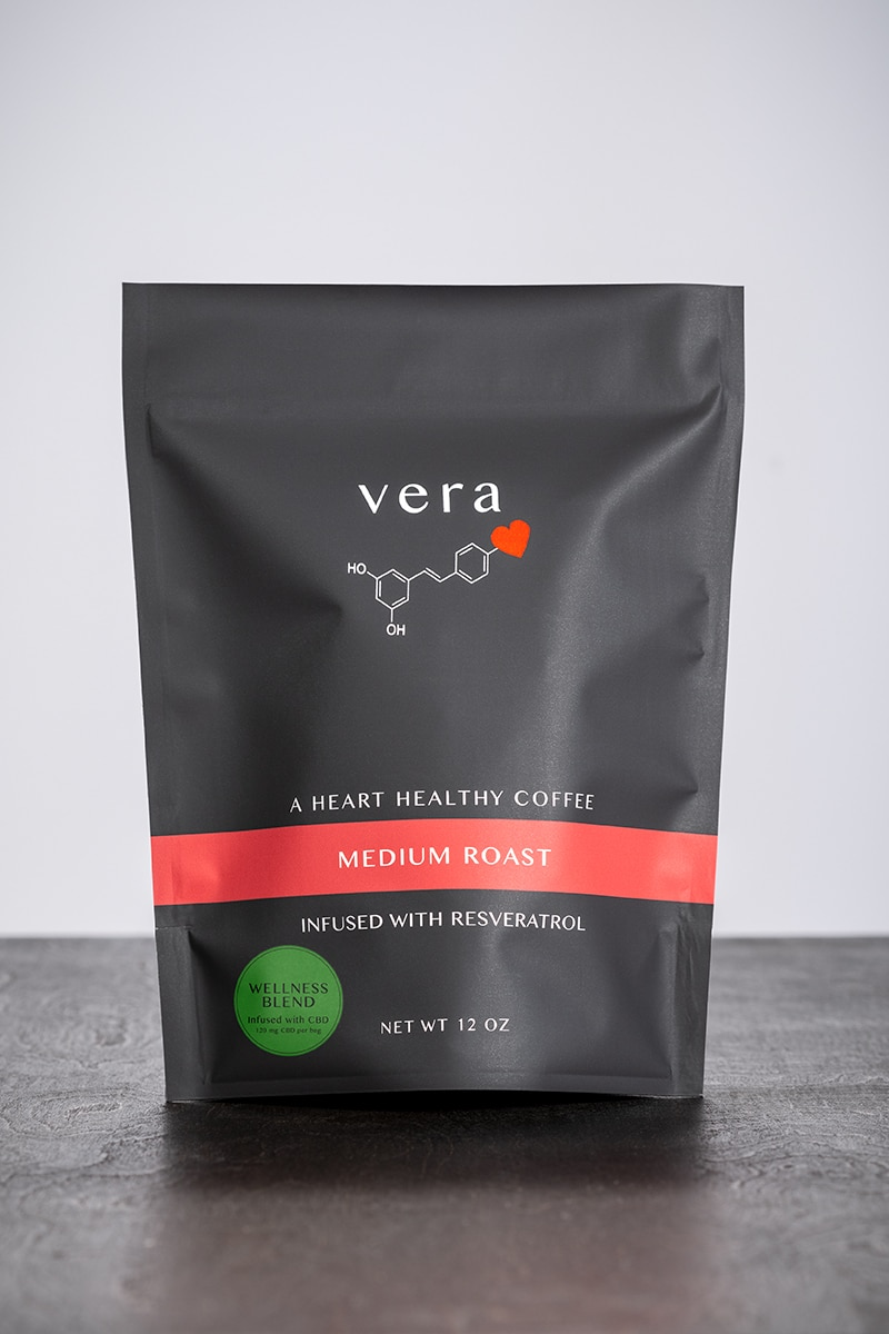 Vera Roasting Grows Line of Resveratrol and CBD-Infused Coffees