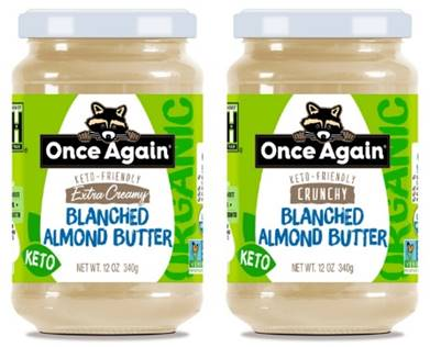 Once Again to Launch Keto-Friendly Almond Butter at Expo East