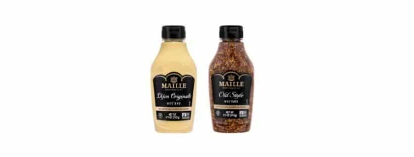 Maille Launches Post-Consumer Recycled Plastic Squeeze Bottle Mustard