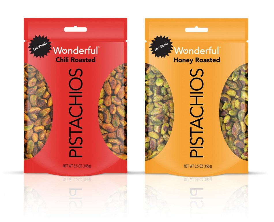 Wonderful Pistachios No Shells Launches New Chili Roasted and Honey Roasted