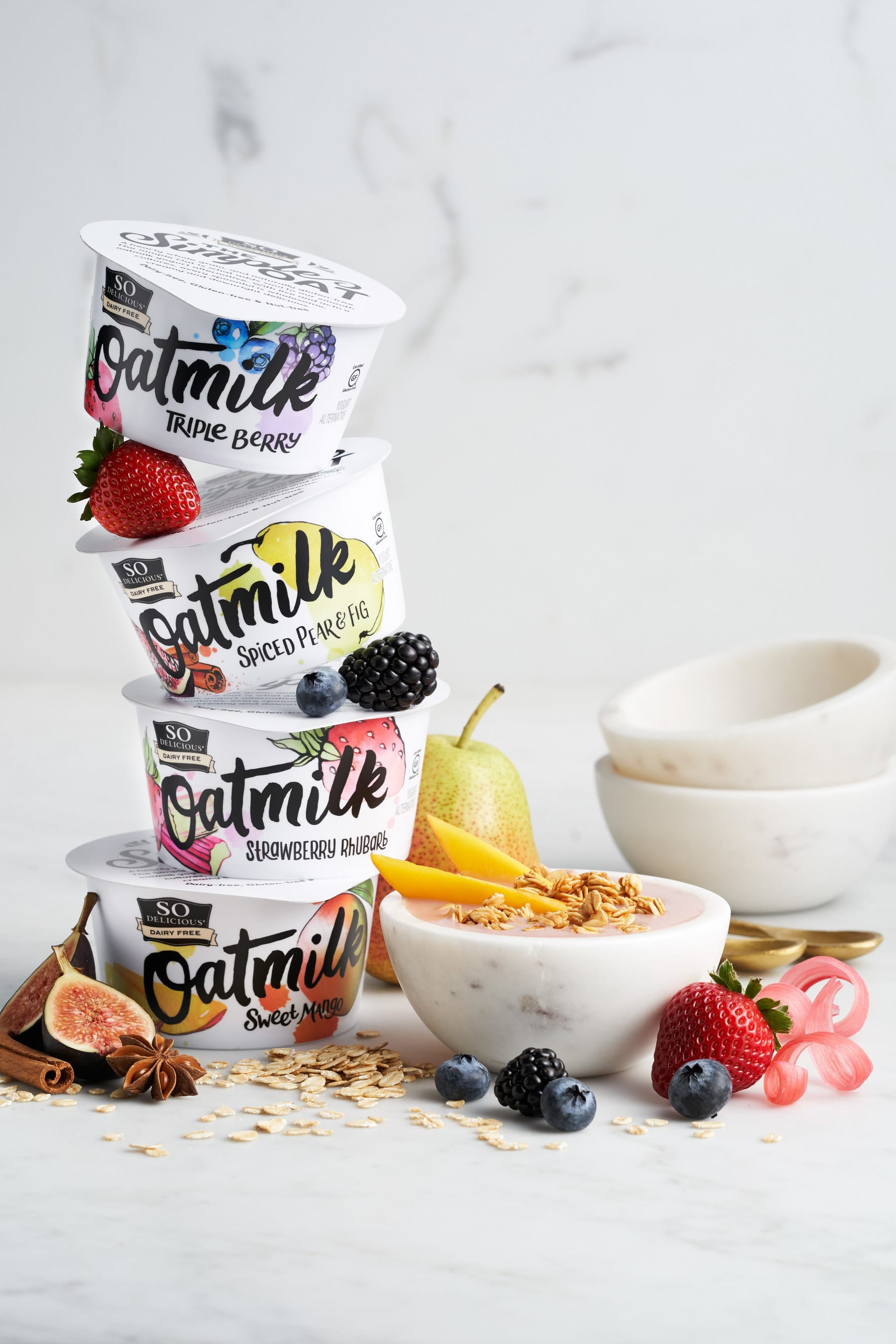 So Delicious Dairy Free Launches New Oatmilk Yogurt Alternatives