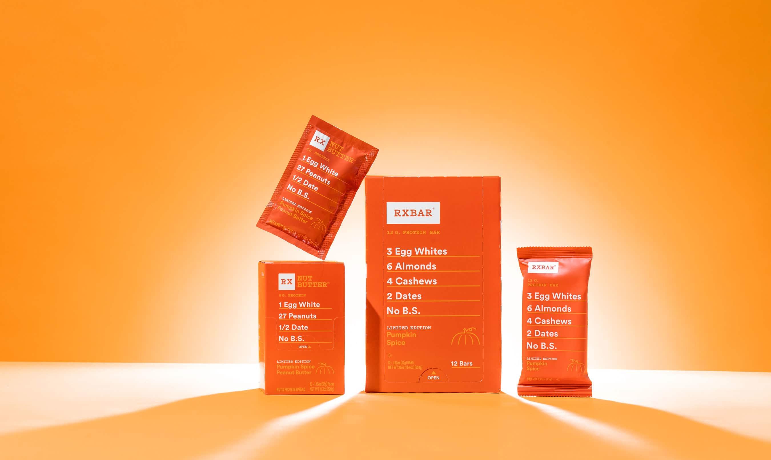 RXBAR Unveils Limited Edition Pumpkin Spice Peanut Butter