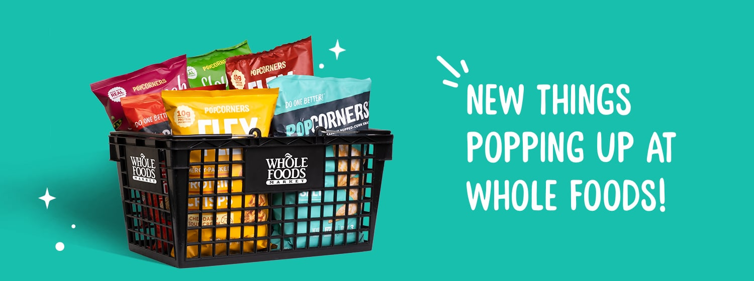 PopCorners Launches in Whole Foods Nationwide