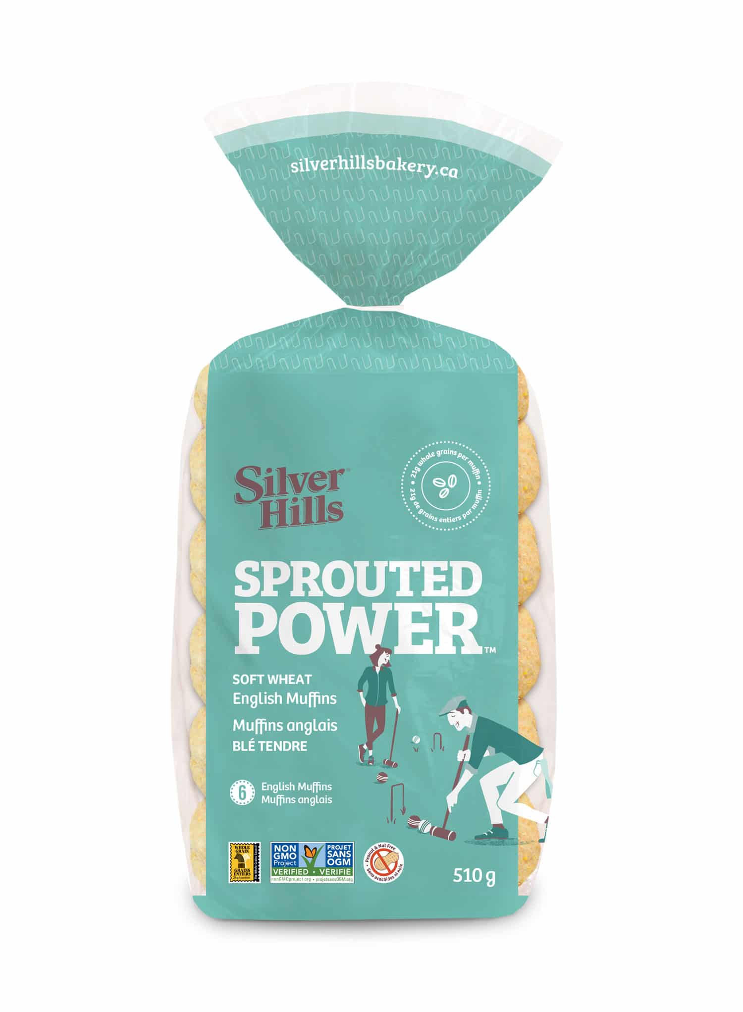 Silver Hills Bakery Debuts Sprouted Power Soft Wheat English Muffins