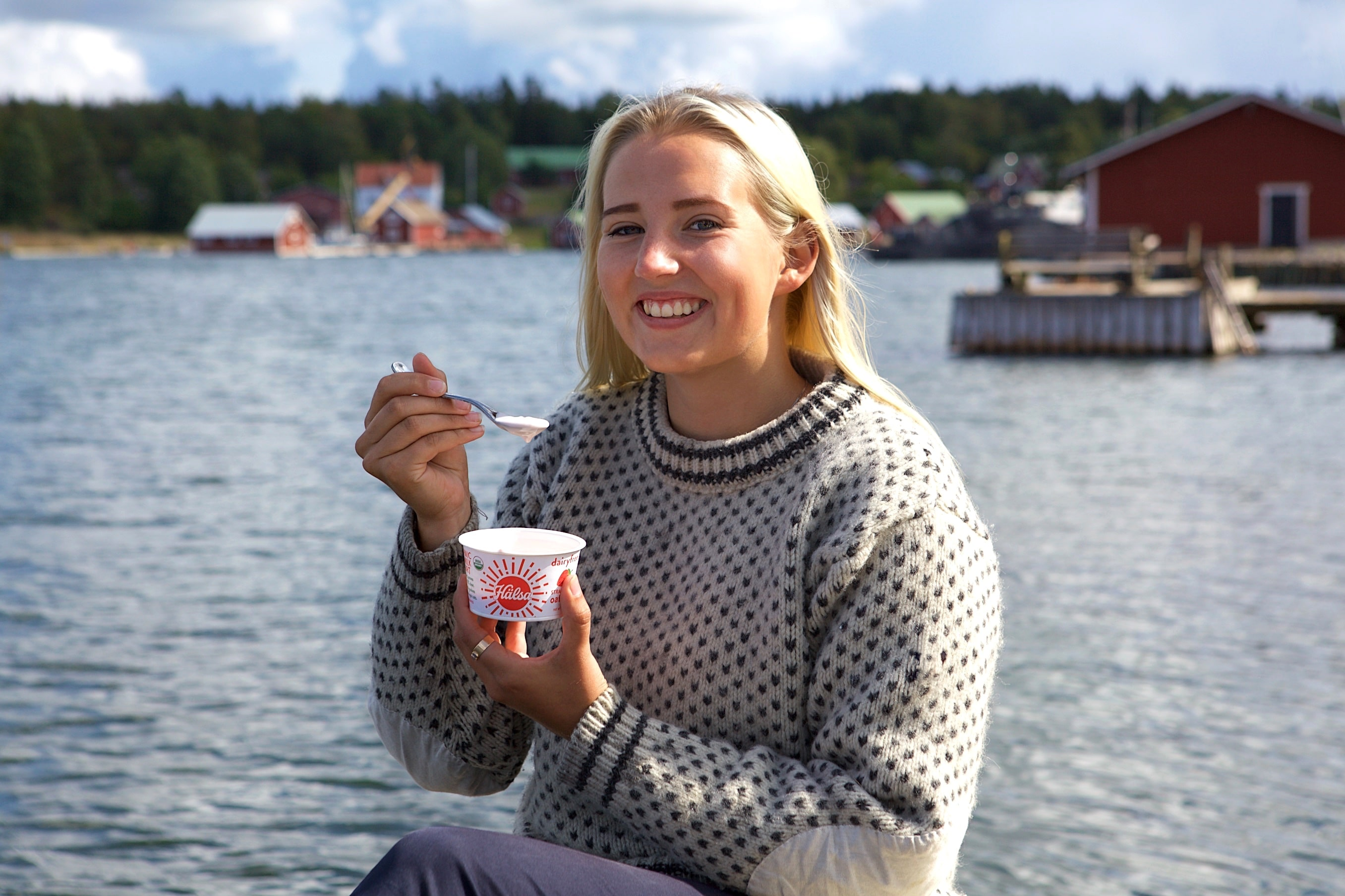 Hälsa Debuts New Organic Oatmilk Yogurt Cups