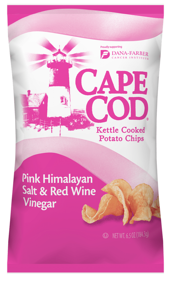 Cape Cod Potato Chips Releases Limited-Edition Flavor in Support of Breast Cancer Awareness Month