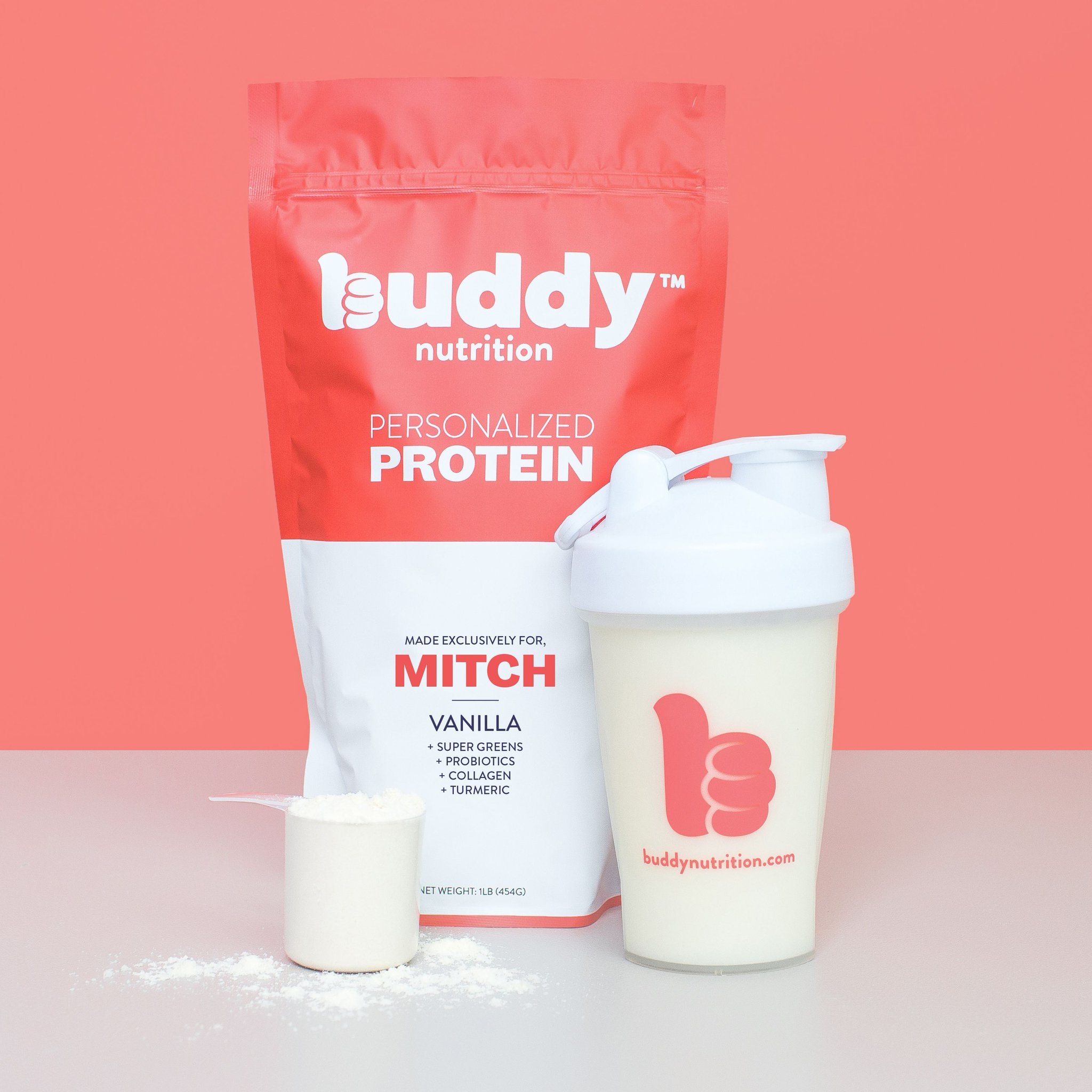 Buddy Nutrition Launches Individually-Personalized Protein Powders