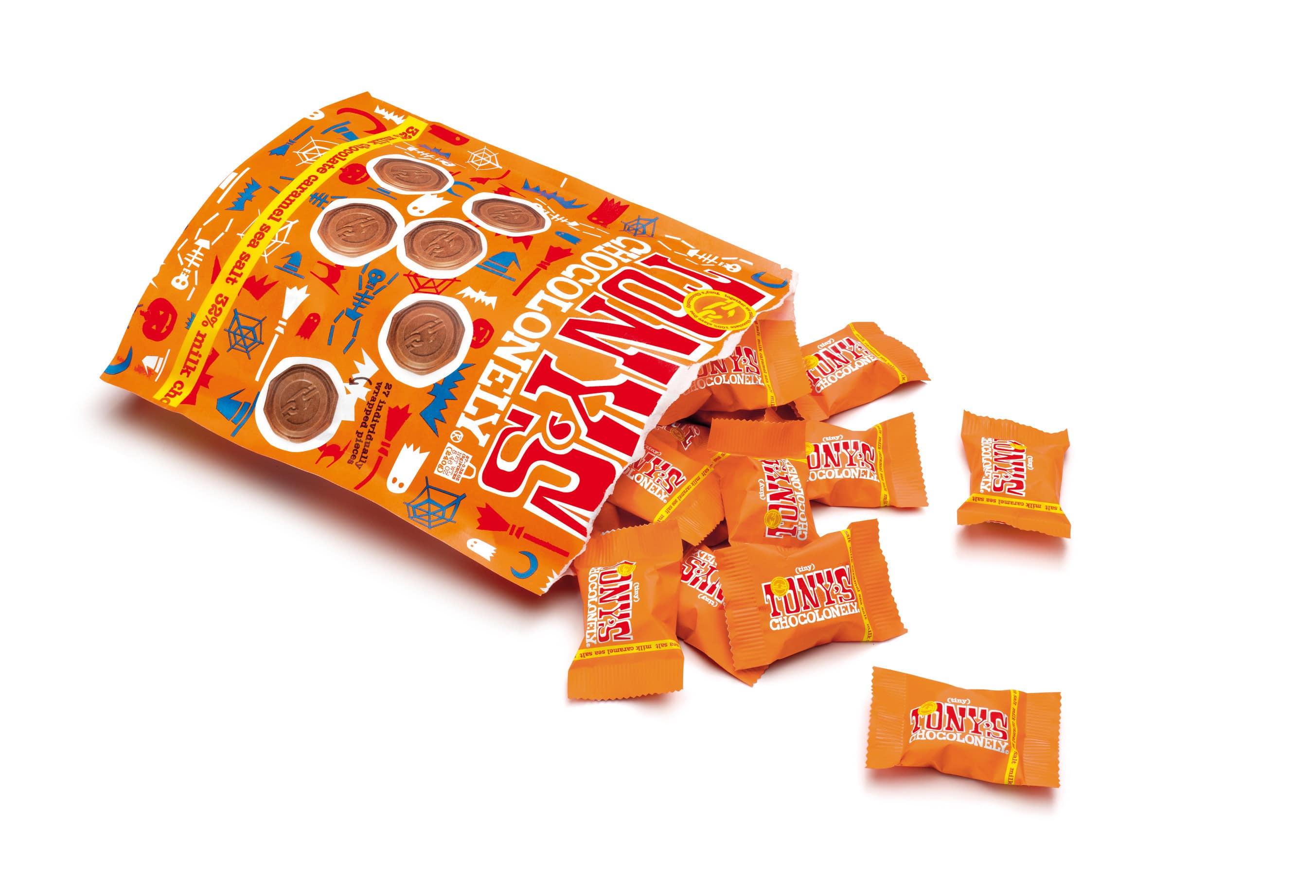 Tony's Chocolonely Introduces New Halloween Tiny Tony's
